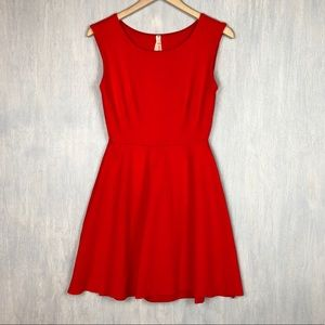 🌟 Bailey 44 fit and flare dress red M flaw